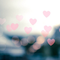 abstract heart photography bokeh 8x10 8x12 fine art photography romantic photography fairy light gray pink art valentines day bedroom decor