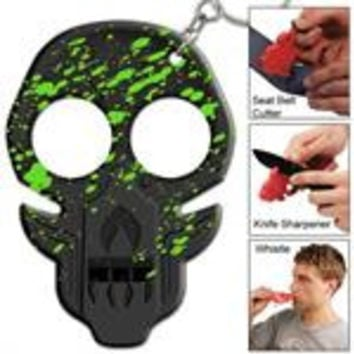 Zombie Emergency Key Chain