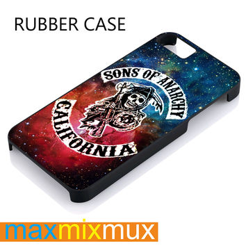 Sons Of Anarchy California iPhone 4/4S, 5/5S, 5C, 6/6 Plus Series Rubber Case
