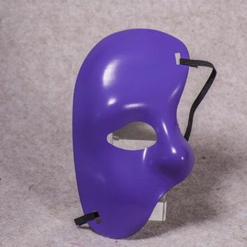 Party Phantom of the Opera Mens Half Face Mardi Gras Masquerade Mask Venetian Grand Event Costume Right Face Masks Adults