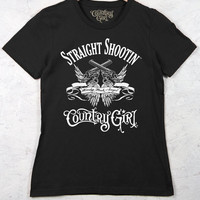 Women's Country Girl® Straight Shootin' Short Sleeve Tee