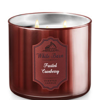 FROSTED CRANBERRY3-Wick Candle