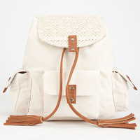 Roxy Hideaway Backpack Ivory One Size For Women 25109316001