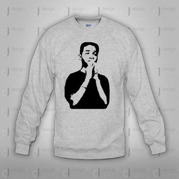 Drake Jaden Smith Praying Crewneck Sweatshirt