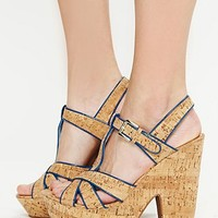 Free People Sonoma Cork Heel