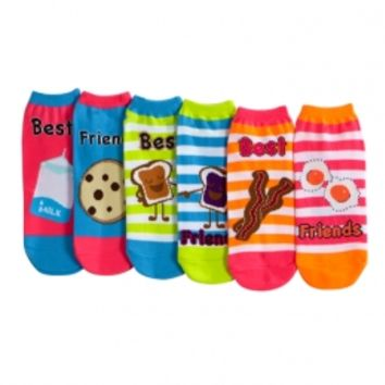 Bff Food Ankle Socks | Girls Tops Clearance | Shop Justice