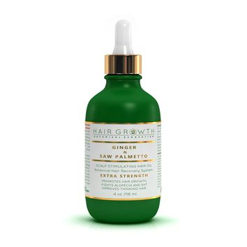 Hair Growth Stimulating Treatment / Scalp Care Ginger & Saw Palmetto