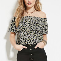 Daisy Off-The-Shoulder Top | Forever 21 - 2000151567
