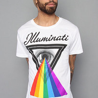 The Illuminati Tee in White : Karmaloop.com - Global Concrete Culture