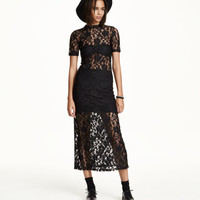 Long Lace Dress - from H&M