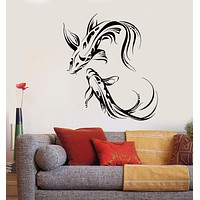 Vinyl Wall Decal Koi Carp Asian Japanese Fish Buddhism Stickers Unique Gift (1876ig)