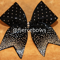Black Tie Required Princess Cheer Bow