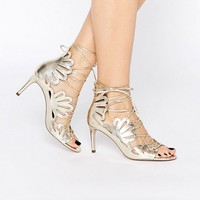 ASOS SWIRL Lace Up Heels at asos.com