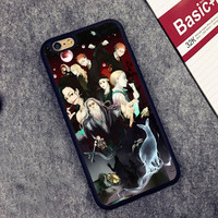 Harry Potter Comic Printed Soft Rubber Mobile Phone Cases Accessories For iPhone 6 6S Plus 7 7 Plus 5 5S 5C SE 4 4S Cover Shell