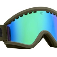 Electric 2014/2015 EGV Goggle Irie (Bronze/Green Chrome) + Bonus Lens Snow Goggles at 7TWENTY Boardshop, Inc