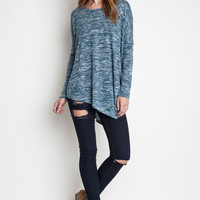 Asymmetrical Knit Tee