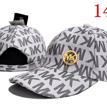 MK embroidery Strap Cap Adjustable Golf Snapback Baseball Hat
