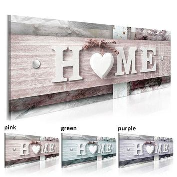 Modern Wall Art Single Pieces Warm and Sweet Canvas Painting Decoration Home Letter on Wood Printing Poster Home Decor