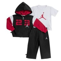 Nike Store. Jordan Jumpshot Infant Boys' Three-Piece Set