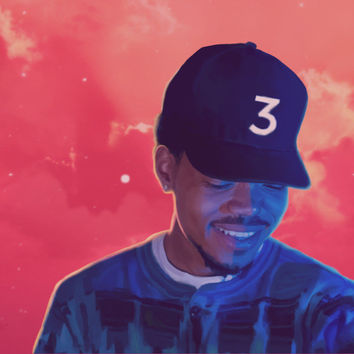 Chance The Rapper Acid Rap Fabric Poster