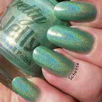 Vernal - Strong Linear Holographic Custom Nail Polish