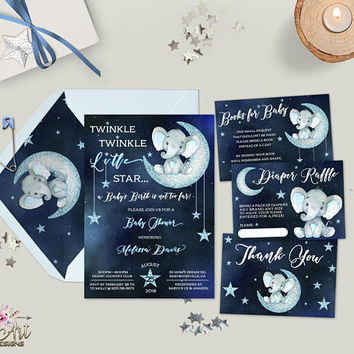 6d3e5921cb38a Best Star Baby Shower Invitations Products on Wanelo