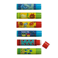 Set of 6 Fun Inspired Lip Balms with Aloe