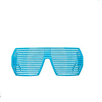 Fashionable Hip Hop Theme Ultimate Blue Party Shades