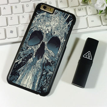 Abstract Skulls Artwork iPhone 6 Plus | 6S Plus Case Planetscase.com