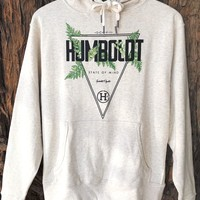 """Fern Canyon"" Ladies Pullover Hoodie"
