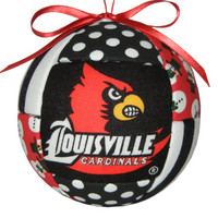 Louisville Cardinals Christmas Ornament by craftcrazy4u on Etsy