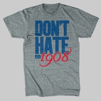 Vintage Chicago Cubs TShirt Heather Gray by chitownclothing