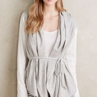Saturday/Sunday Cozy Wrap Sweatshirt in Grey Size:
