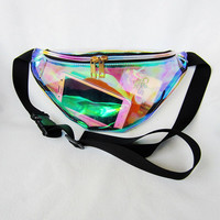 Laser Waist Bag Special PVC Creative Stylish Crossbody Bags