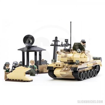 Soviet Battle Tank - Lego Compatible Military Set