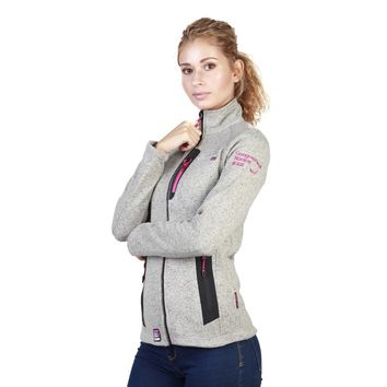 Geographical Norway Women's Grey Tazzera Sweater