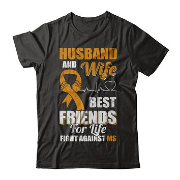 Husband & Wife Best Friends For Life Fight Against Ms