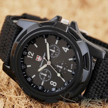 Gemius Military Canvas Watch