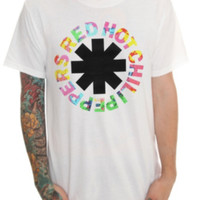Red Hot Chili Peppers Psychedelic Logo T-Shirt