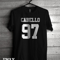 Camila Cabello Shirt 97,  Fifth Harmony Clothing, Cabello 97 Tshirt Unisex 100% cotton Band T-Shirts