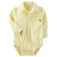 Baby Boy OshKosh B'gosh® Button Down Bodysuit | null