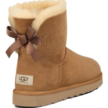 UGG Australia Women's Bailey Bow Mini Winter Boots | DICK'S Sporting Goods