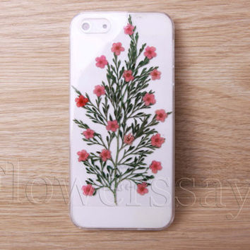 iPhone 6 case iPhone 6 plus Pressed Flower, iPhone 5/5s case, iPhone 4/4s case,  5c case Galaxy S4 S5 Note 2 note 3 Real Flower case NO:F472