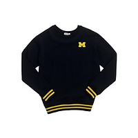 University of Michigan Mesh Back Sweatshirt