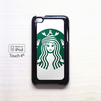 Meet Ariel The Starbucks Mermaid for apple case iPod 4/iPod 5