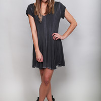 Free & Flirty Dress {Coal}