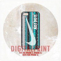 Nike Aztec v2 iPhone 5, 5S, Note For 5C Case Cover