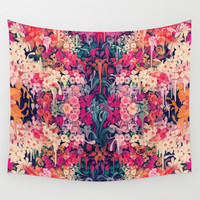 Loves me maybe Wall Tapestry by Kristy Patterson Design