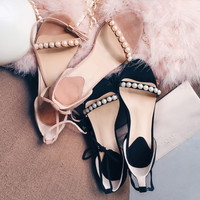 Summer Fashion Women's Shoes - Lace Up heel Sandals for summer cute  = 4777193412