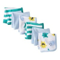 JUST ONE YOU® Made by Carters Newborn Boys' 6 Piece Washcloth Set - Blue